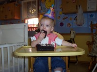Toddlers 1st birthday